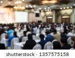 blurred meetting room defocus ... | Shutterstock . vector #1357575158
