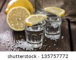 Постер, плакат: Two Shots Tequila on
