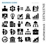 business finance economics... | Shutterstock .eps vector #1357615745