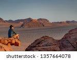 young asian man traveler...   Shutterstock . vector #1357664078