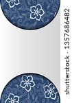 chinese porcelain style...   Shutterstock .eps vector #1357686482