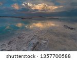Dead Sea View At Sunset  Israel