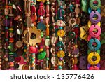 Background Of Colorful Wooden...