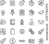 thin line vector icon set  ... | Shutterstock .eps vector #1357784255