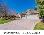 beautiful exterior of newly... | Shutterstock . vector #1357796015