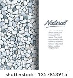 grey gravel texture wallpaper... | Shutterstock .eps vector #1357853915