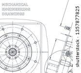 blueprint  sketch. vector... | Shutterstock .eps vector #1357877825