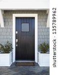 front door of an upscale home... | Shutterstock . vector #135789962