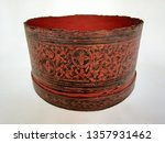 antique betel box   the... | Shutterstock . vector #1357931462