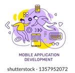 vector business illustration of ... | Shutterstock .eps vector #1357952072