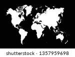 world map vector | Shutterstock .eps vector #1357959698