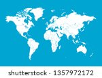 color world map vector | Shutterstock .eps vector #1357972172