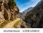route cares river gorge  cain... | Shutterstock . vector #1358120822