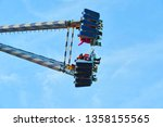 huge swing in the entertainment ...   Shutterstock . vector #1358155565
