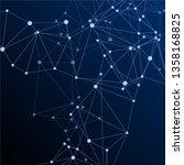 big data cloud scientific...   Shutterstock .eps vector #1358168825