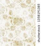 royal baroque texture pattern... | Shutterstock .eps vector #1358191385