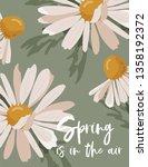 hello spring poster in vector....   Shutterstock .eps vector #1358192372