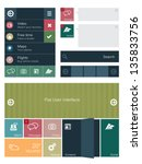 flat user interface elements...