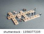 britain eu brexit referendum... | Shutterstock . vector #1358377235