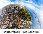 spherical view of limassol... | Shutterstock . vector #1358385908