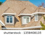 the top of the house or... | Shutterstock . vector #1358408135