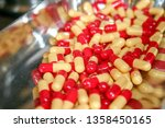 medicine and healthy. drugs... | Shutterstock . vector #1358450165