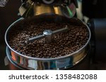 freshly roasted aromatic coffee ... | Shutterstock . vector #1358482088