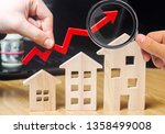 the concept of real estate... | Shutterstock . vector #1358499008