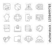 internet technology  online... | Shutterstock .eps vector #1358499785