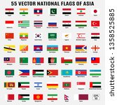 vector collection of 55... | Shutterstock .eps vector #1358525885