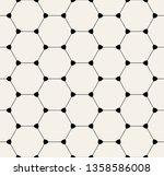 vector seamless pattern. modern ... | Shutterstock .eps vector #1358586008