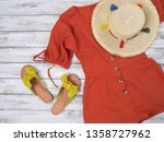 womens clothing  shoes ... | Shutterstock . vector #1358727962
