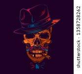 original vector illustration in ... | Shutterstock .eps vector #1358728262