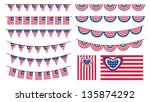 united states of america... | Shutterstock .eps vector #135874292