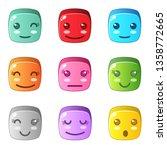 block puzzle cube any emotion....