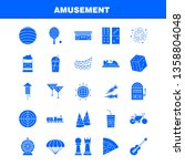 business  solid glyph icons set ...