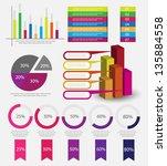 infographics   Shutterstock .eps vector #135884558