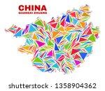 mosaic guangxi zhuang region...   Shutterstock .eps vector #1358904362