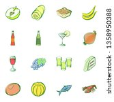 food images. background for... | Shutterstock .eps vector #1358950388