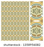 decorative pattern vector for... | Shutterstock .eps vector #1358956082