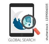 vector illustration of global... | Shutterstock .eps vector #1359006035