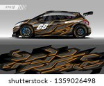 racing car decal design vector. ... | Shutterstock .eps vector #1359026498