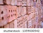 stack of bricks for...   Shutterstock . vector #1359030542