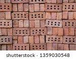 stack of bricks for...   Shutterstock . vector #1359030548