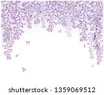 Vector Wisteria Flower Violet ...
