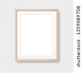 wood picture frame isolated... | Shutterstock .eps vector #1359089708