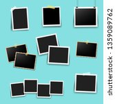 photo frame big set with mint... | Shutterstock . vector #1359089762