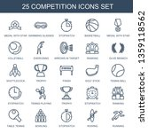 competition icons. trendy 25... | Shutterstock .eps vector #1359118562