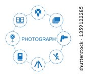 photograph icons. trendy 8...   Shutterstock .eps vector #1359122285