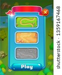 user interface gui mobile game...